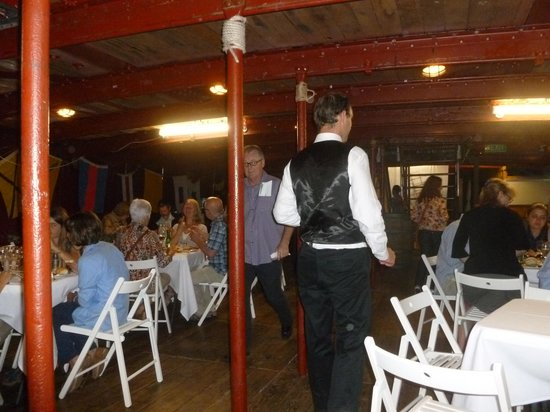 James Craig Tall Ship: NYE Dinner Seating (below deck)