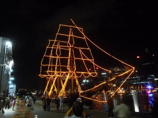 James Craig Tall Ship : NYE Ship