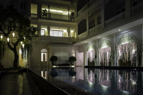 Ping Nakara Boutique Hotel & Spa: The lovely pool area.
