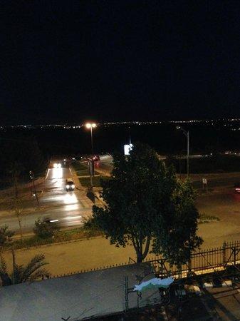 Zalagh Parc Palace : Вид из окна