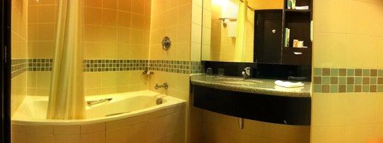 Swiss-Garden Hotel : The bathroom