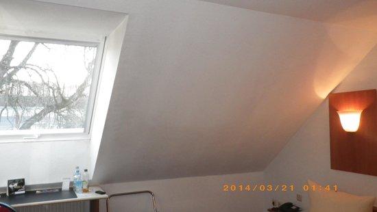Hotel Harzer Hof: 屋根裏風の部屋