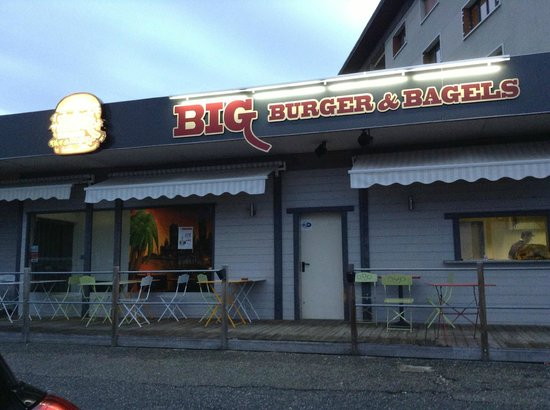 La Ravoire, Frankrike: Big Burger & Bagels