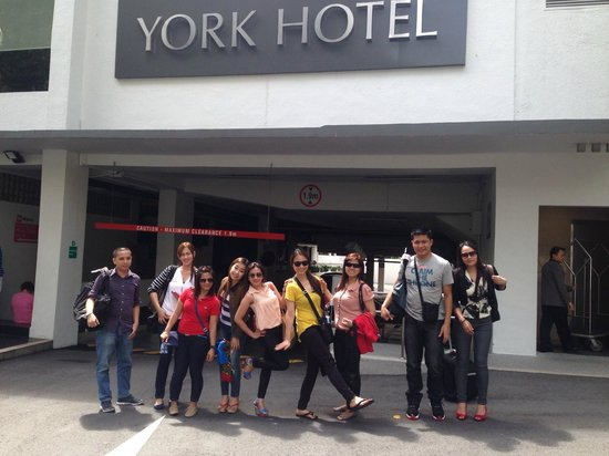 York Hotel: fantastic facade
