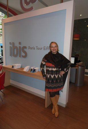 Ibis Tour Eiffel Cambronne: Hall do Hotel