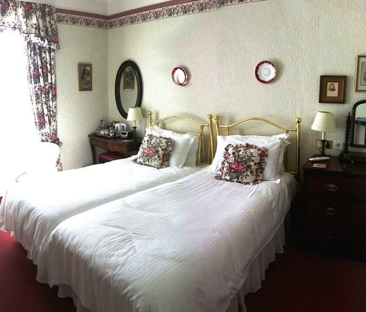 Dolvean House: Twin Bedded room