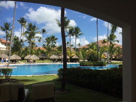 Majestic Colonial Punta Cana : Vue sur la piscine