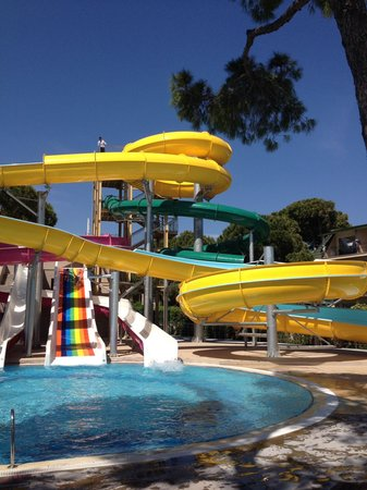 Papillon Ayscha Hotel: View of the slides