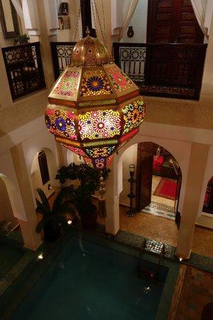 Riad Hikaya: Lobby / pool area