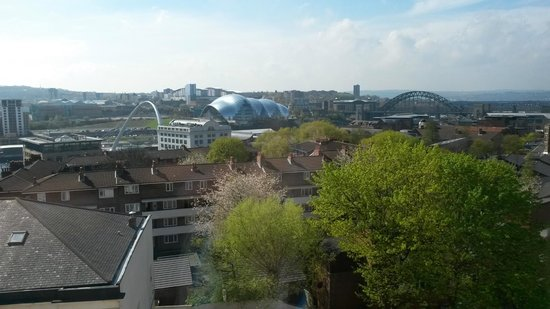 Staybridge Suites Newcastle: Wonerful view