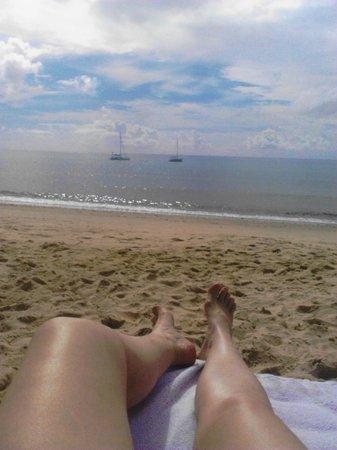Resort La Torre: lindoooo...o mar...a praia