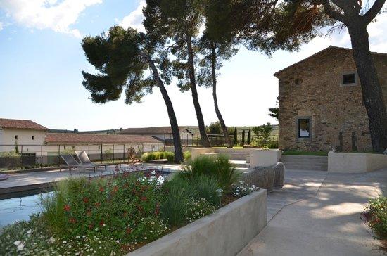 Villa Symposia : extérieur