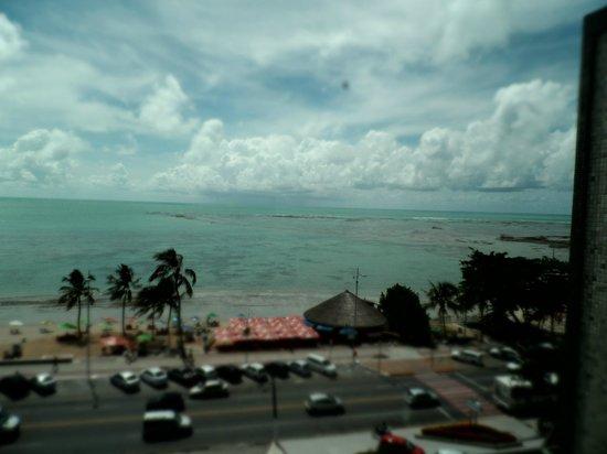 Maceio Mar Hotel: paisagem da janela do quarto