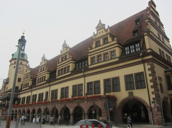 Markt: Leipzig Market Square,Germany