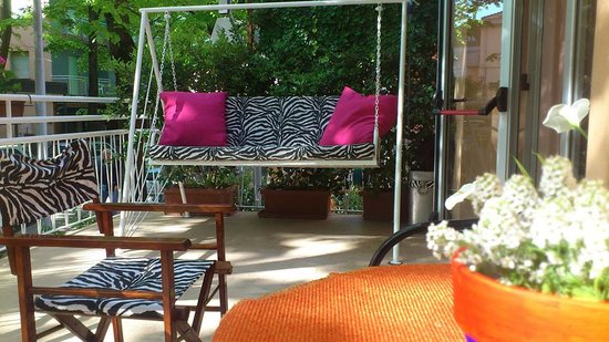 Hotel Villa Elia: L'entrata