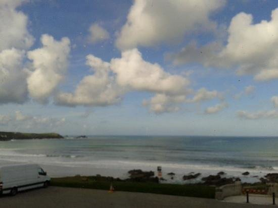 The Headland Hotel & Spa - Newquay: view from veranda
