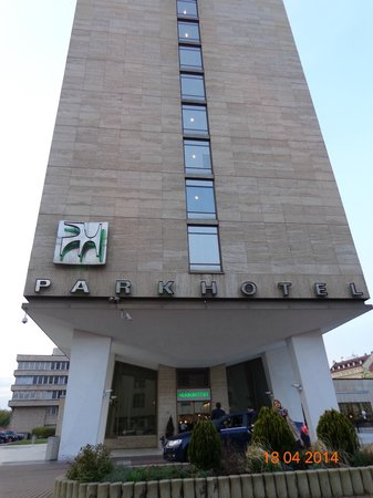 Parkhotel Praha: лаконично