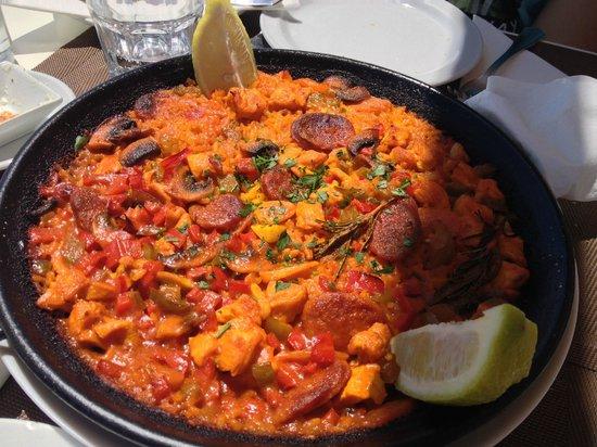 Cafe Antiguo del Puerto: Excellente paella !!
