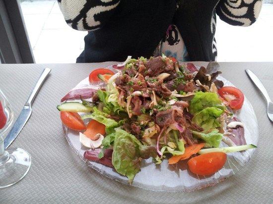 Bar Du Soleil: Salade gourmande