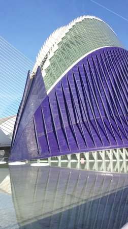 City of the Arts and Sciences: Particolare architettonico