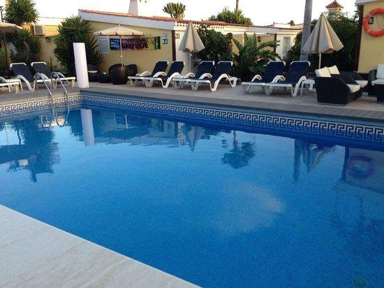 Villas Blancas: piscine chauffée