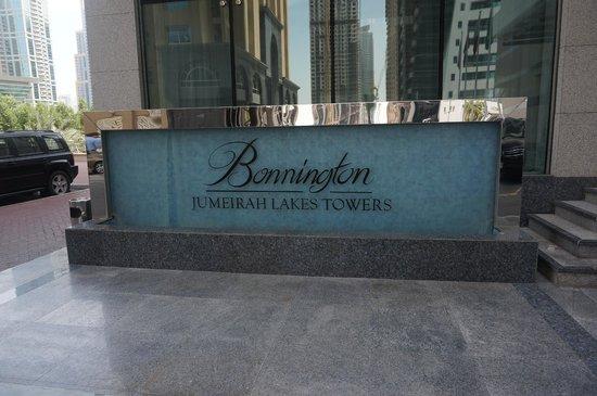 Bonnington Jumeirah Lakes Towers: extérieur de l'hotêl