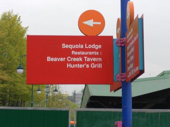 Disney's Sequoia Lodge : HOTEL