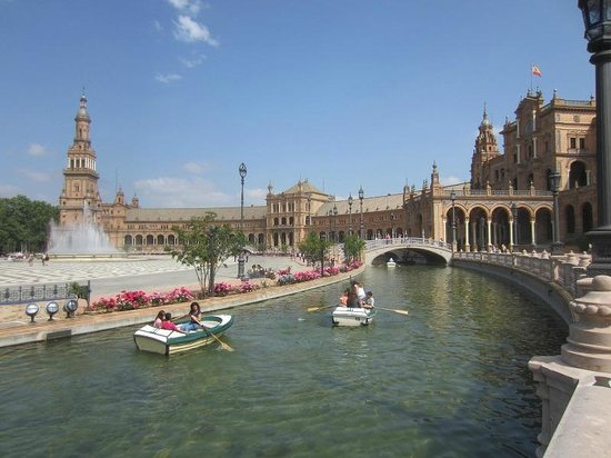 Plaza de España: vue d'ensemble