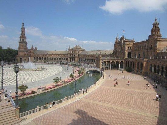 Plaza de España: vue générale