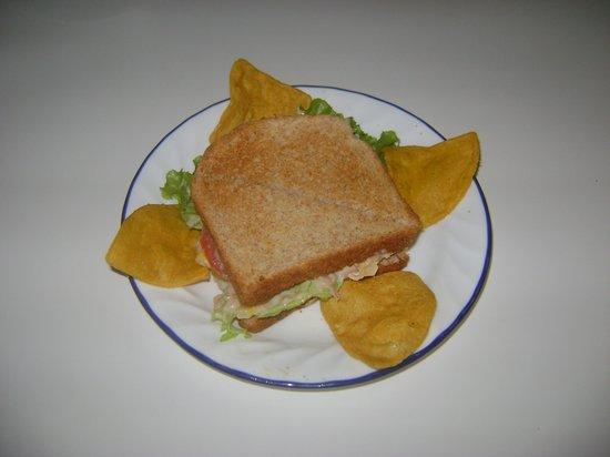 Sandwich, at La Piazza