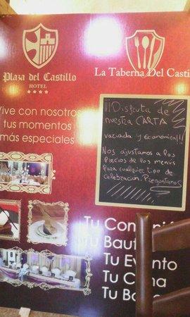 Hotel Plaza Del Castillo: Rico