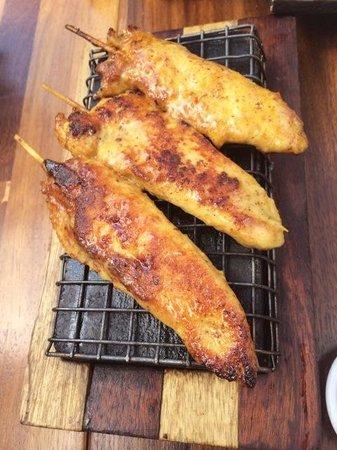 Quick China: Satay chicken