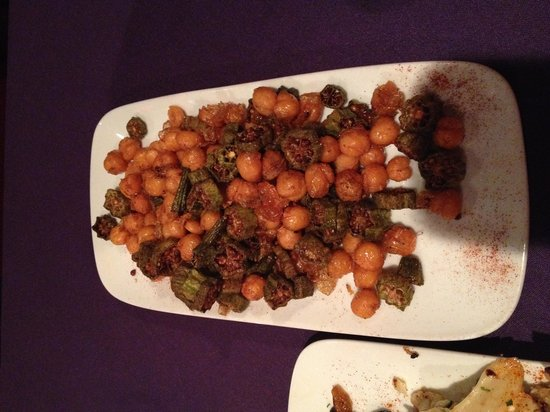 The Fez: Snack #3: Chickpeas and Okra