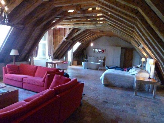 Chateau des Arpentis: La suite du dernier étage.