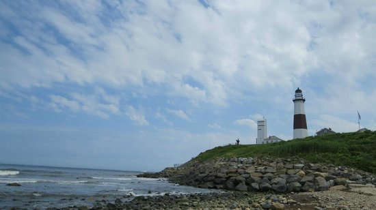 Montauk Point Lighthouse: モントーク岬灯台