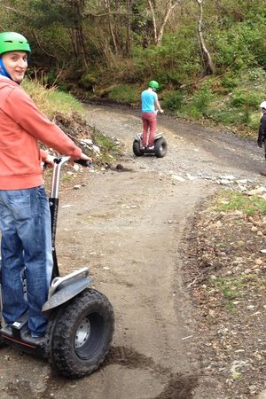 Segway Hebrides: Before the hill!