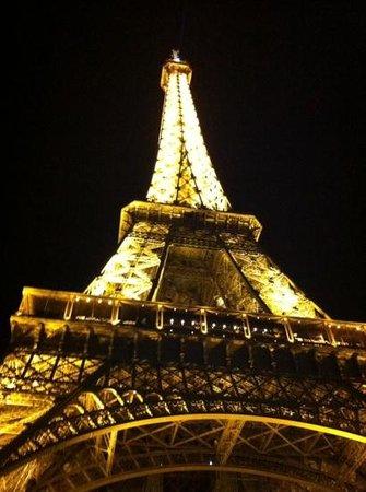 Fat Tire Tours Paris: Tower view on completion of tour