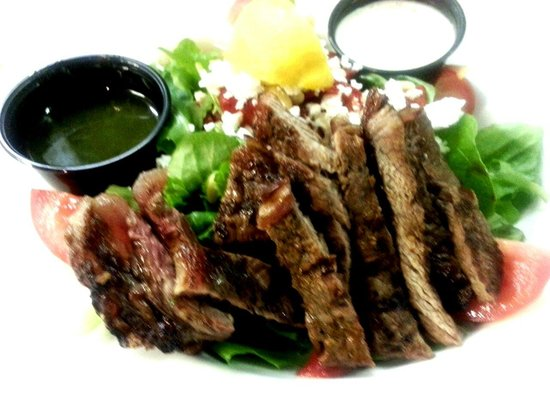Chuckles Jack: Thai chop steak salad