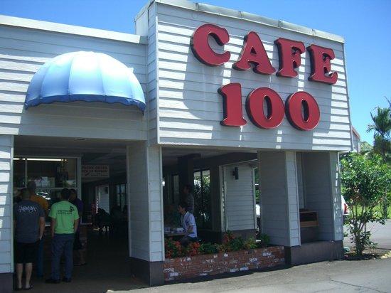 Cafe 100: 外観