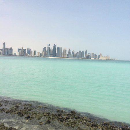 The Corniche : View of Doha