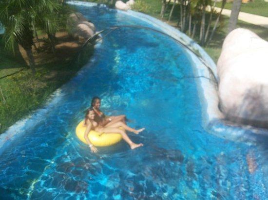 Aldeia das Aguas Park Resort: Rio lento