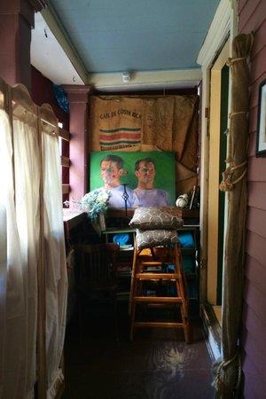 art cafe of nyack: Inside the restaurant.