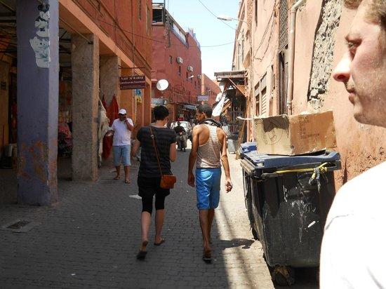 Médina de Marrakech : Perdidisimos