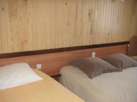 Hotel Luxembourg : chambre triple