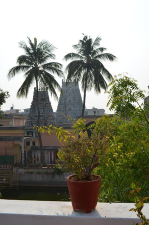 Anantha Heritage Hotel : view from first floor