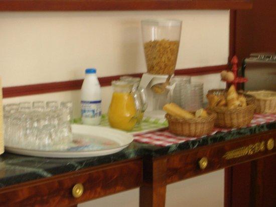 Hotel Luxembourg : petit déjeuner