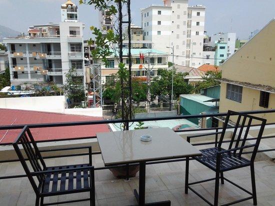 Angella Hotel: balcony