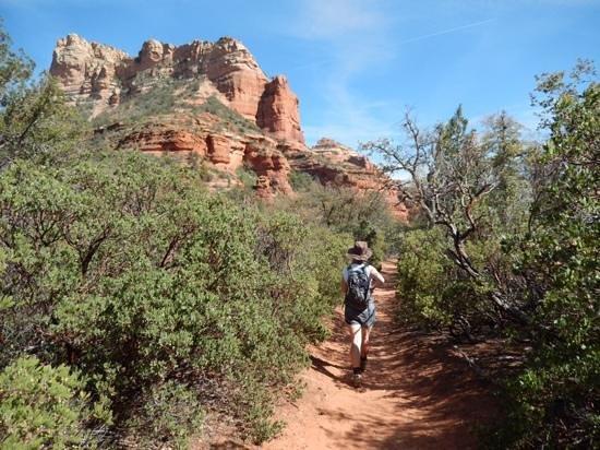 Boynton Canyon Trail : walking the trail