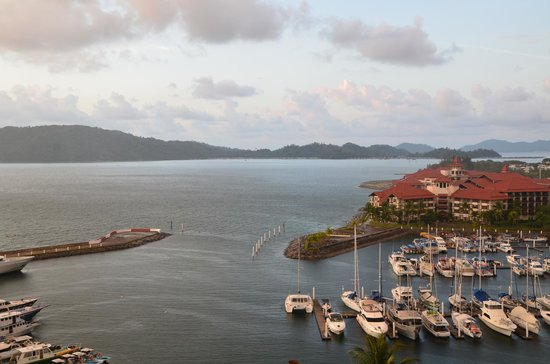 Sutera Harbour Resort (The Pacific Sutera & The Magellan Sutera): View from Room