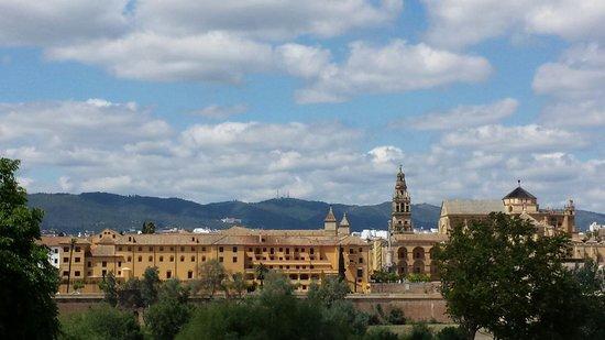 Hesperia Córdoba: Vue de notre fenêtre